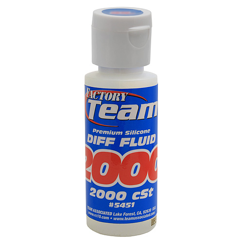 SILICONE DIFF FLUID 2,000cst #5451