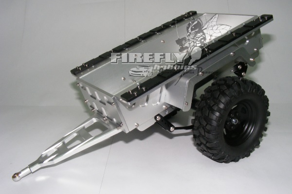 1/10 ALUMINUM SCALE CRAWLER TRAILER - SMALL