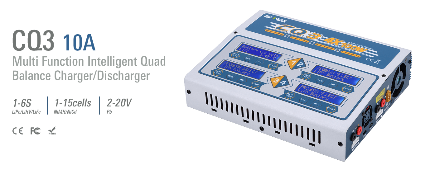 CQ3 QUAD CHARGER