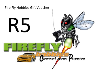Fire Fly Hobbies R5 Gift Certificate