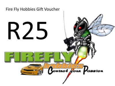 Fire Fly Hobbies R25 Gift Certificate