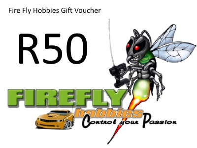 Fire Fly Hobbies R50 Gift Certificate