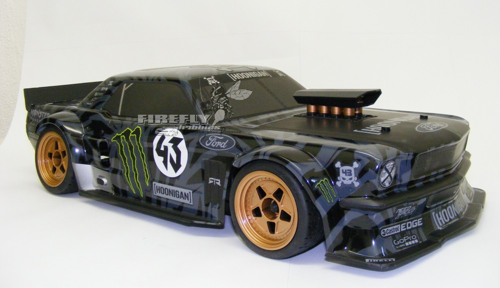 RS4 SPORT 3 w/KEN BLOCK 1965 FORD MUSTANG HOONICORN RTR - Click Image to Close