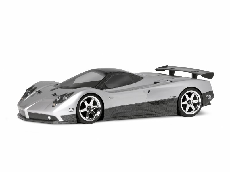 1/10 PAGANI ZONDA F (200mm) CLEAR BODY #17523
