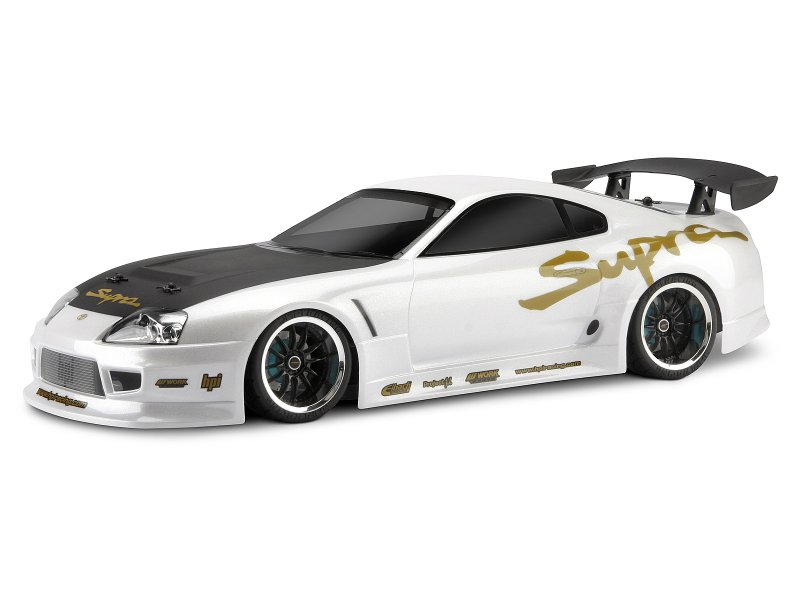 1/10 TOYOTA SUPRA AERO (200mm) CLEAR BODY #17539