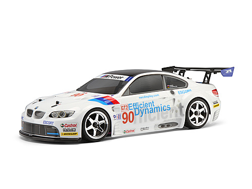 HPI BMW M3 GT2 (E92) CLEAR BODY (200mm)
