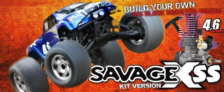 SAVAGE X SS KIT #861