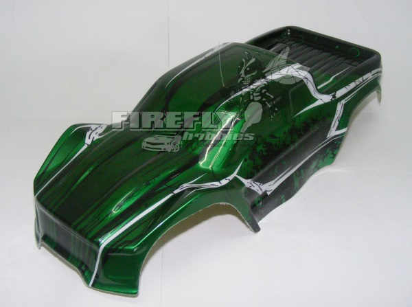 1/10 PAINTED TRUCK BODY - GREEN #70196