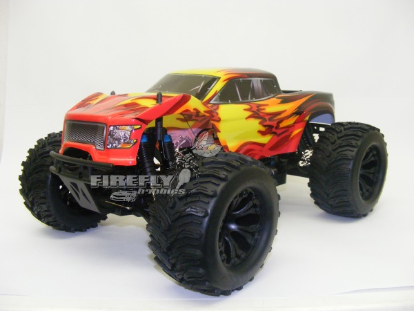 HSP 1/10 4WD BRUSHED MONSTER TRUCK (UPDATED LOOK) RTR