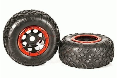 1/8 SCALE CRAWLER WHEELS AND TIRES (1PR) #98050
