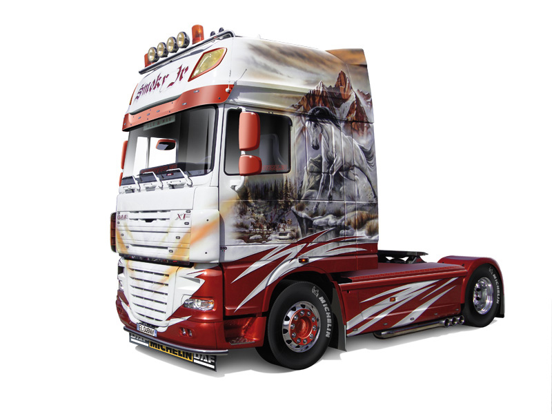 1/24 DAF XF 105 SMOKEY JR. SHOWTRUCKS #3917