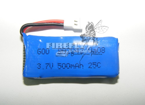SPARE BATTERY H31 500mAh 3.7V 25C upgrade