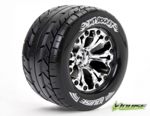 "MT-ROCKET 2.8"" 1/10 MONSTER TRUCK TIRES #L-T3201SCH"