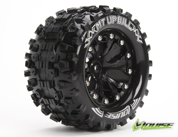 "MT-UPHILL 2.8"" 1/10 MONSTER TRUCK TIRES #L-T3204SBH"