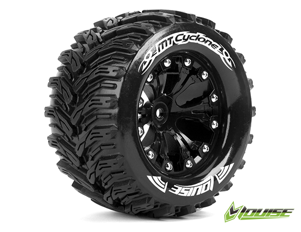 "MT-CYCLONE 2.8"" 1/10 MONSTER TRUCK TIRES #L-T3226SBH"