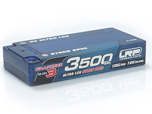 3500 HV ULTRA LCG STOCK SPEC SHORTY 130C/65C 7.6V #430287