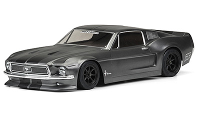 1/10 1968 FORD MUSTANG CLEAR BODY #1558-40