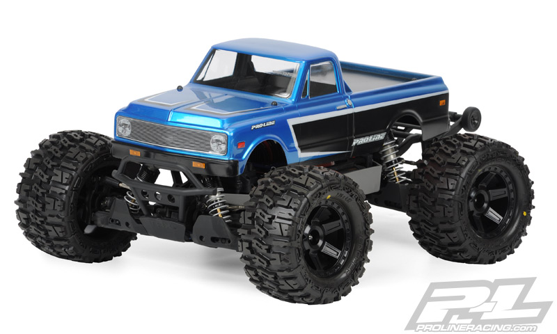 1972 CHEVY C-10 CLEAR BODY #3251-00