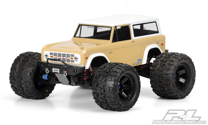1973 FORD BRONCO CLEAR BODY #3393-00