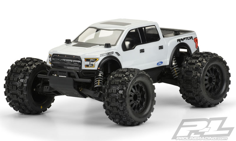 2017 FORD F-150 RAPTOR CLEAR BODY #3471-00