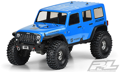 JEEP WRANGLER UNLIMITED RUBICON CLEAR BODY #3502-00