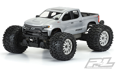 2017 CHEVY SILVERADO Z71 TRAIL BOSS CLEAR BODY - #3506-00