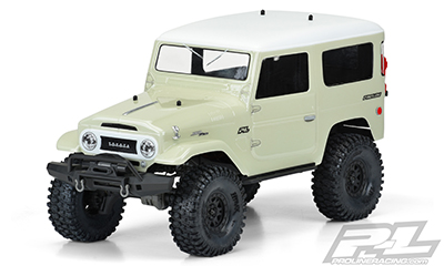 1965 TOYOTA LAND CRUISER FJ40 CLEAR BODY 325mm WB #3508-00