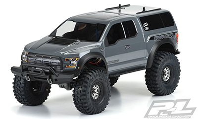 2017 FORD F-150 RAPTOR CLEAR BODY 325mm WB #3509-00