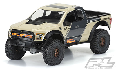 2017 FORD F-150 RAPTOR CLEAR BODY 313mm WB #3516-00