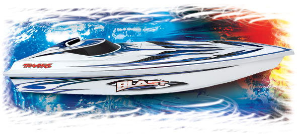 BLAST HIGH PERFORMANCE RACING BOAT w/TQ 2.4GHz #38104-1