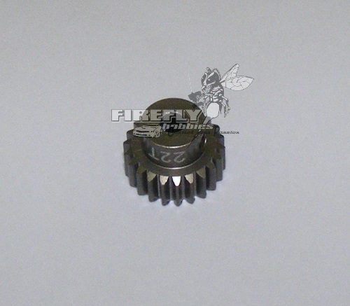 22T 48P HARD COATED PINION GEAR