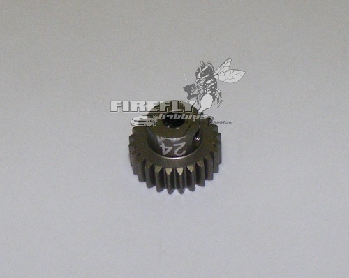 24T 48P HARD COATED PINION GEAR