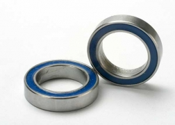 BALL BEARINGS, BLUE RUBBER SEAL (12X18X4mm)(2) #5120