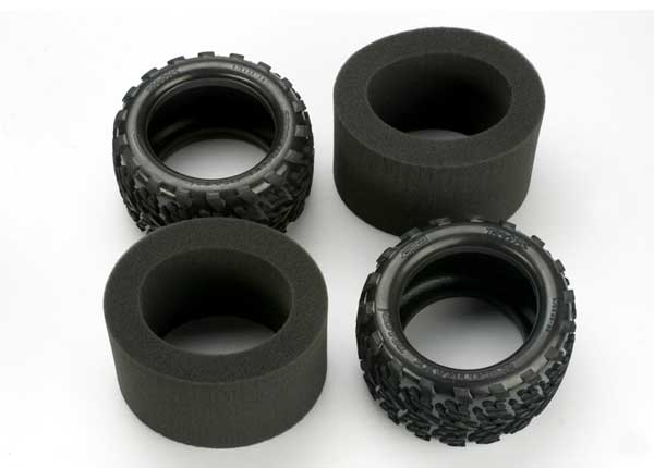 "TIRES, TALON 3.8"" w/FOAM INSERTS #5370"