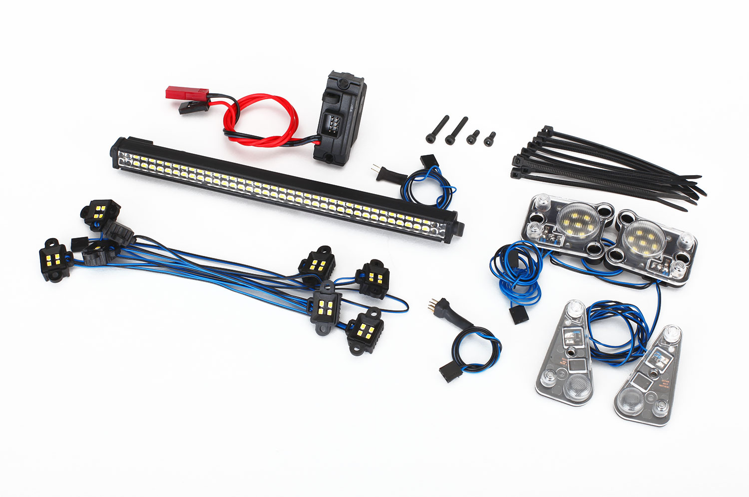 LED LIGHT SET, COMPLETE TRX-4 - WATERPROOF #8030
