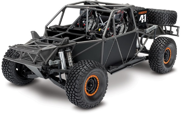 UNLIMITED DESERT RACER: 4WD ELECTRIC RACING TRUCK #85076-4
