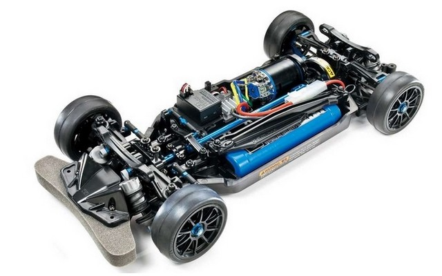 R/C 1/10 TT02R Chassis Kit #47326