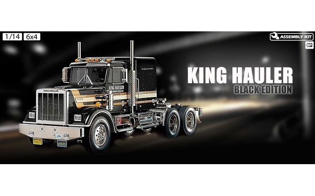 TAMIYA R/C 1/14 King Hauler Black Edition #56336