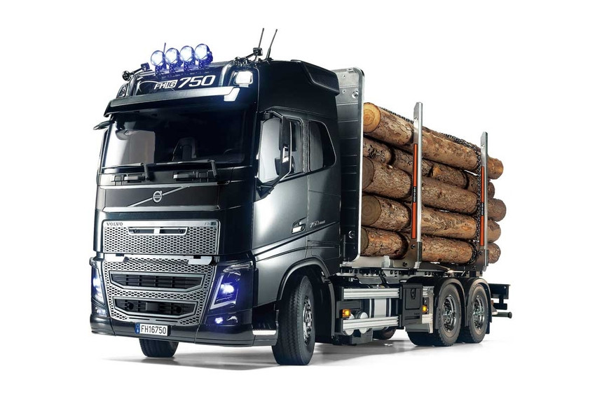 R/C VOLVO FH16 GLOBETROTTER 750 6x4 TIMBER TRUCK #56360