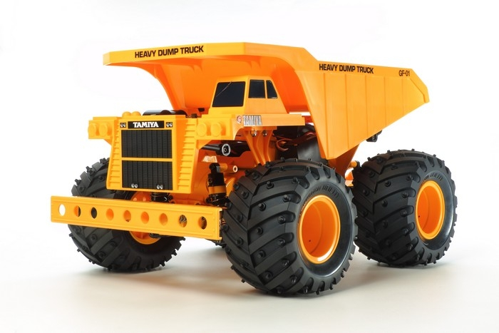 R/C HEAVY DUMP TRUCK (GF01) #58622 - Click Image to Close