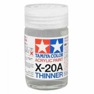 X-20A Acrylic Thinner 46ml.