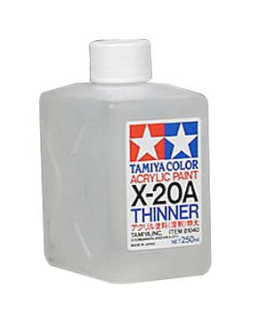 X-20A Acrylic Thinner 250ml. #81040