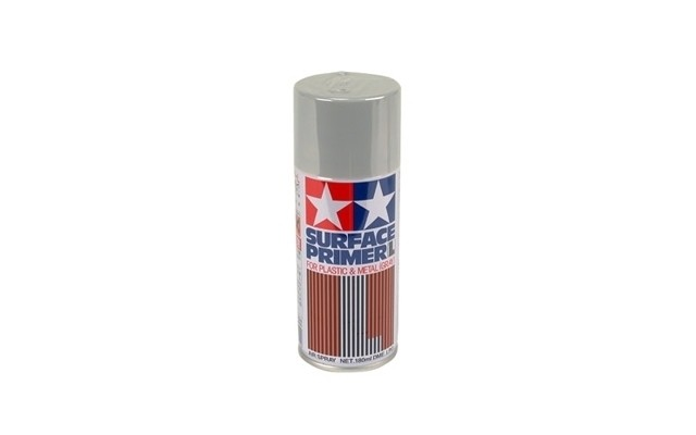 Surface Primer (Plastic/Metal) Grey 100ml spray #87026