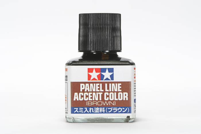 Panel Line Accent Color - Brown 40ml.
