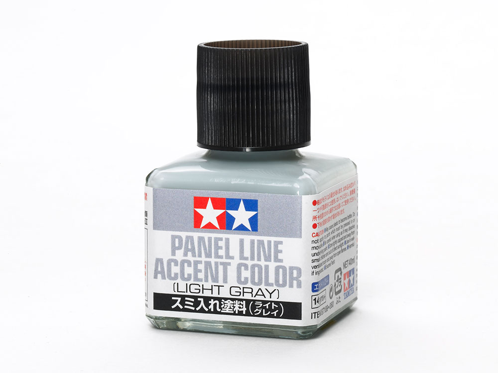 Panel Line Accent Color - Light Gray 40ml. #87189