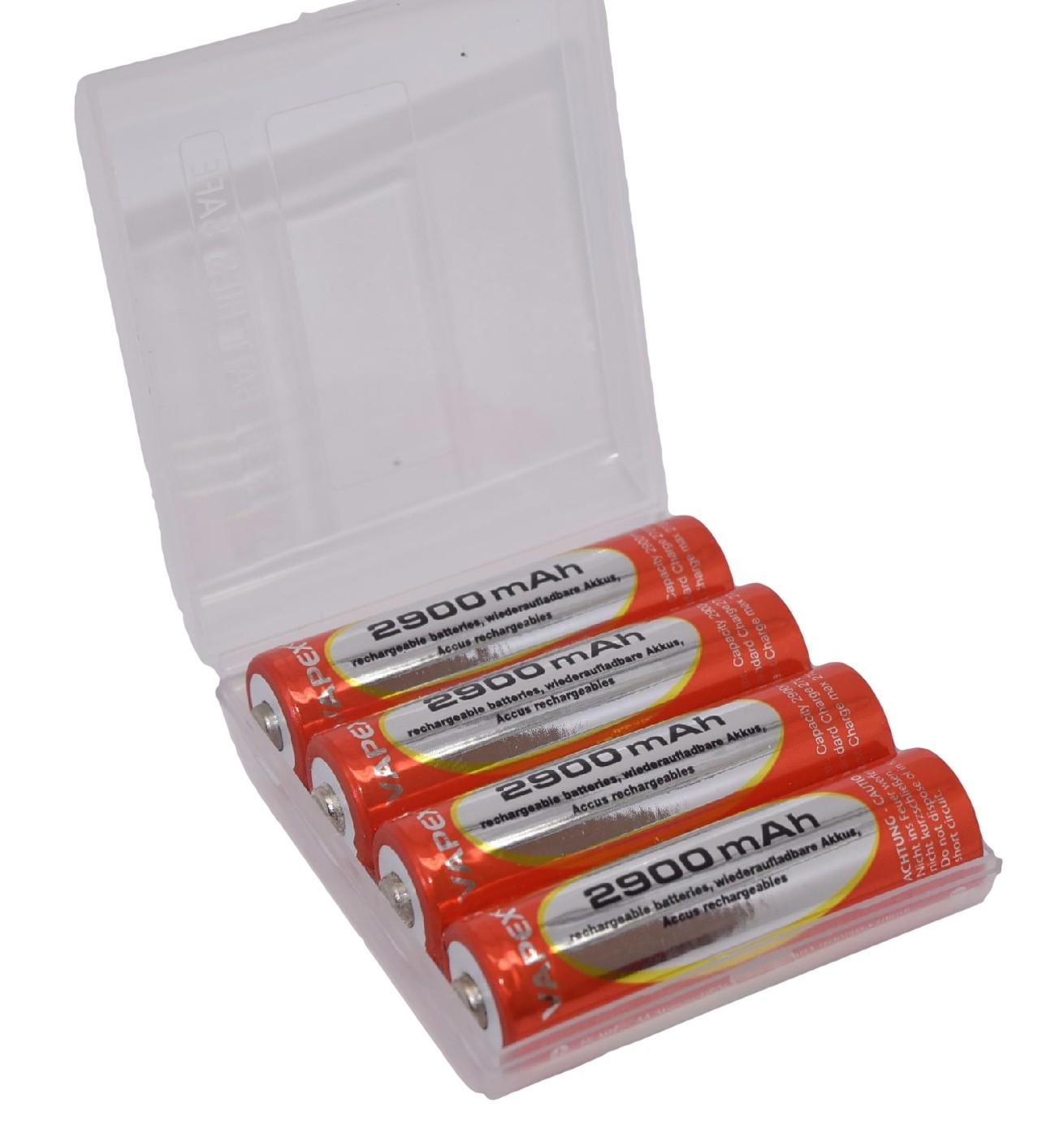 STD 2900mAh AA Rechargable Batteries (4pcs)