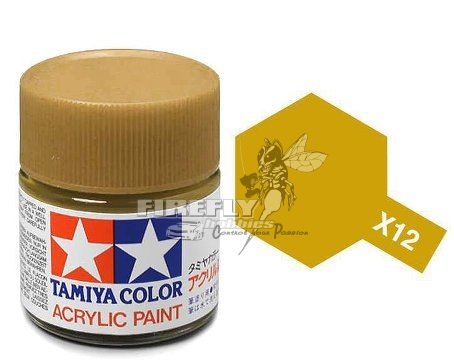 X-12 Gold Leaf Acrylic 23ml.