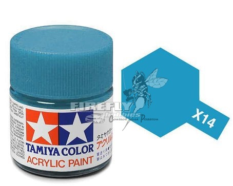 X-14 Sky Blue Acrylic 23ml.