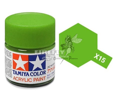 X-15 Light Green Acrylic 23ml.