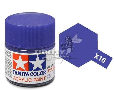 X-16 Purple Acrylic 23ml.